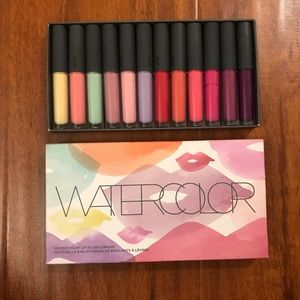 Bite Watercolor Lipgloss Library